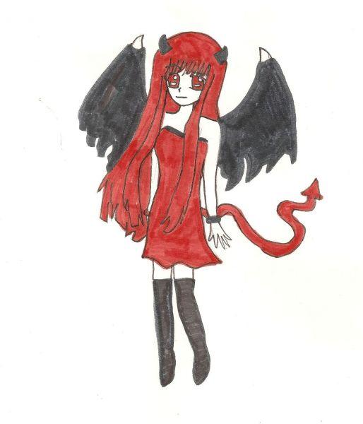 Nos dessin angel and demon - Dessin ange demon ...